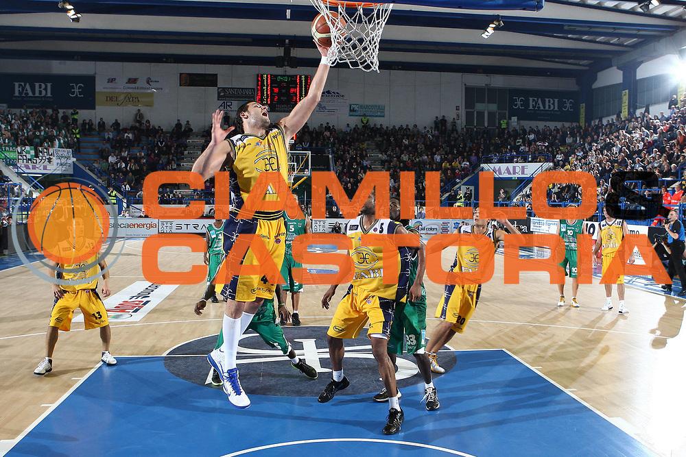 DESCRIZIONE : Porto San Giorgio Lega A 2010-11 Fabi Montegranaro Air Avellino <br /> GIOCATORE : Dejan Ivanov<br /> SQUADRA : Fabi Montegranaro<br /> EVENTO : Campionato Lega A 2010-2011<br /> GARA : Fabi Montegranaro Air Avellino<br /> DATA : 14/11/2010<br /> CATEGORIA : tiro penetrazione<br /> SPORT : Pallacanestro<br /> AUTORE : Agenzia Ciamillo-Castoria/C.De Massis<br /> Galleria : Lega Basket A 2010-2011<br /> Fotonotizia : Porto San Giorgio Lega A 2010-11 Fabi Montegranaro Air Avellino <br /> Predefinita :