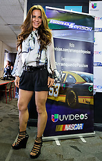 Kate Del Castillo at 2013 Auto Club 400