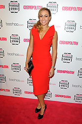 Jessica Ennis at Cosmopolitan's Ultimate Women Awards 2011 in London, Thursday, November 3rd 2011. Photo by: i-Images<br /> File photo - Jessica Ennis Pregnant<br /> <br /> Team GB gold medallist Jessica Ennis announces this morning Friday 10th January 2014 via her Facebook fan page that she is pregnant. Photo filed Friday, 10th January 2014