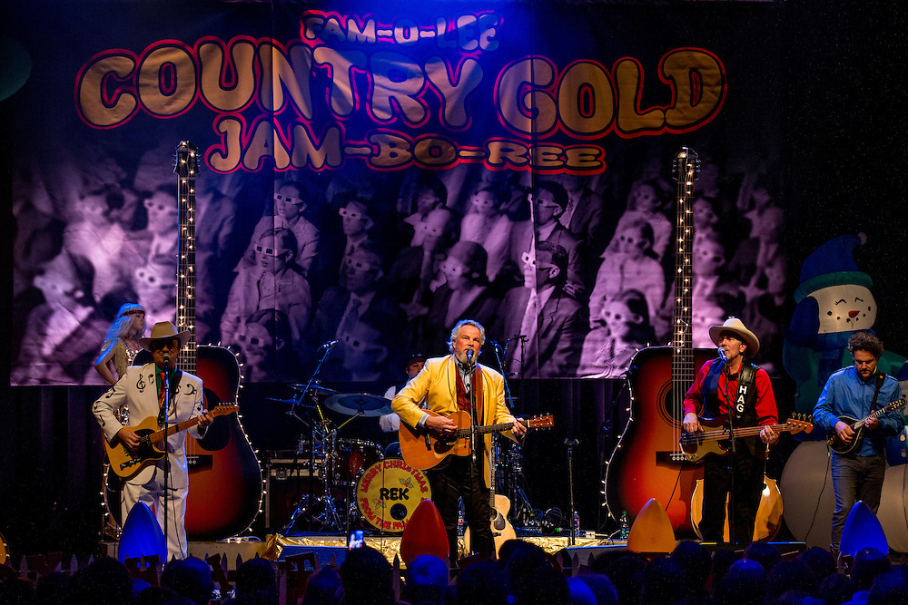 Robert Earl Keen and the Robert Earl Keen Band in concert at ACL Live at the Moody Theater in Austin, Texas on December 20, 2016. Photograph © 2016 Darren Carroll
