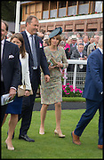 HARRY HERBERT; LADY CAROLYN WARREN, Ebor Festival, York Races, 20 August 2014