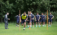 Dundee&rsquo;s Darren O&rsquo;Dea warms up - Dundee FC pre-season training at Michelin Grounds, Dundee, Photo: David Young<br /> <br />  - &copy; David Young - www.davidyoungphoto.co.uk - email: davidyoungphoto@gmail.com