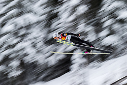 15.12.2017, Nordische Arena, Ramsau, AUT, FIS Weltcup Nordische Kombination, Skisprung, im Bild Martin Fritz (AUT) // Martin Fritz of Austria during Cross Country Training of FIS Nordic Combined World Cup, at the Nordic Arena in Ramsau, Austria on 2017/12/15. EXPA Pictures © 2017, PhotoCredit: EXPA/ Dominik Angerer