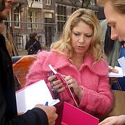 NLD/Amsterdam/20070308 - Stilettorun 2007 Amsterdam, Fiona Hering overlegd