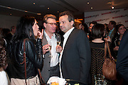 DUNCAN WARD; MARK HIX, The after-party after the premiere of Duncan WardÕs  film ÔBoogie WoogieÕ ( based on the book by Danny Moynihan). Westbury Hotel. Conduit St. London.  13 April 2010 *** Local Caption *** -DO NOT ARCHIVE-© Copyright Photograph by Dafydd Jones. 248 Clapham Rd. London SW9 0PZ. Tel 0207 820 0771. www.dafjones.com.<br /> DUNCAN WARD; MARK HIX, The after-party after the premiere of Duncan Ward's  film 'Boogie Woogie' ( based on the book by Danny Moynihan). Westbury Hotel. Conduit St. London.  13 April 2010