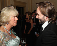 Alfie Boe and HRH The Duchess of Cornwall