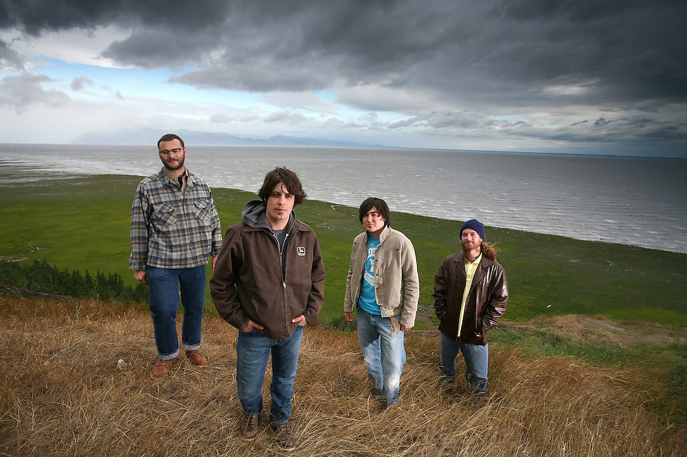 Band, The Whipsaws in Anchorage, Alaska. 2009