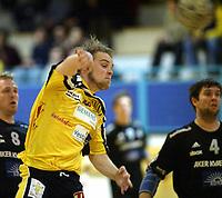 Håndball, 11. desember 2002. Eliteserien, Gildeserien herrer, Kragerø - Stord 25-32. Sveinung Nilsen , Kragerø