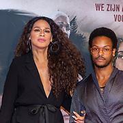 NLD/Amsterdam/20200217-Suriname filmpremiere, dj Sunny Jansen en ...........