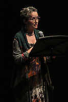 The University of Chicago's Contempo celebrated 50 years this Sunday with a concert at the Reva and David Logan Center located at 915 E. 60th Street.<br /> <br /> 0635 – Artistic Director, Shulamit Ran introduced the group.