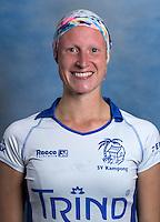 UTRECHT ,   Claudia Veenendaal,  KAMPONG Dames I, seizoen 2015-2016. copyright Koen Suyk