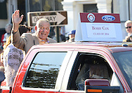 COOPERSTOWN, NY - JULY 26:  2014 Hall of Fame inductee Bobby Cox participates in the annual Parade of Legends down Main Street in Cooperstown, New York on July 26, 2014.