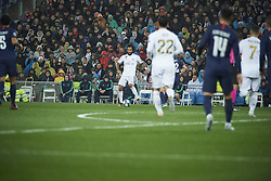November 26, 2019, Madrid, Madrid, Spain: Marcelo (defender; Real Madrid), Isco (midfielder; Real Madrid) in action during the UEFA Champions League match between Real Madrid and Paris Saint-Germain at Santiago Bernabeu Stadium on November 26, 2019 in Madrid, Spain (Credit Image: © Jack Abuin/ZUMA Wire)