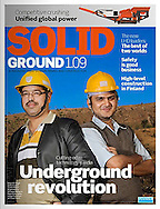 Sandvik customer magazine: SOLID GROUND