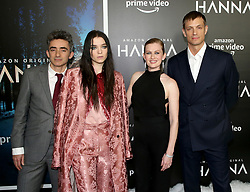 David Farr, Esme Creed-Miles, Mireille Enos & Joel Kinnaman attending the 'Hanna' New York Premiere held at The Whitby Hotel on March 21, 2019 in New York City, NY<br />