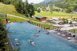 23.06.2017, Hotel Forsthofgut, Leogang, AUT, OeSV, Schwimmtraining Damen Speed Team, im Bild Uebersicht // during a swimmtraining of the Austrian Ladies Speed Team at the Hotel Forsthofgut, Leogang, Austria on 2017/06/23. EXPA Pictures © 2017, PhotoCredit: EXPA/ JFK