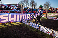 Katie CLOUSE (USA)  at the 2019 UCI Cyclo-Cross World Championships in Bogense, Denmark