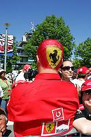 Fans at the USGP, 2005