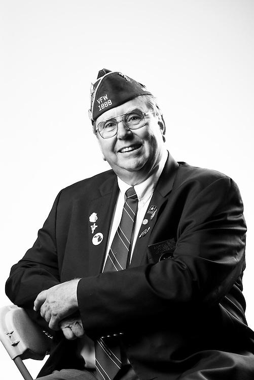 Larry A. Coleman<br /> Army<br /> Spec. 4<br /> Radio Mechanic<br /> July 1964 - 1967<br /> Vietnam<br /> <br /> Veterans Portrait Project<br /> St. Louis, MO