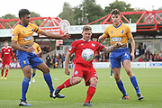 Billy Kee of Accrington Stanley during the EFL Sky Bet League 2 match between Accrington Stanley and Mansfield Town at the Fraser Eagle Stadium, Accrington, England on 19 August 2017. Photo by John Potts.