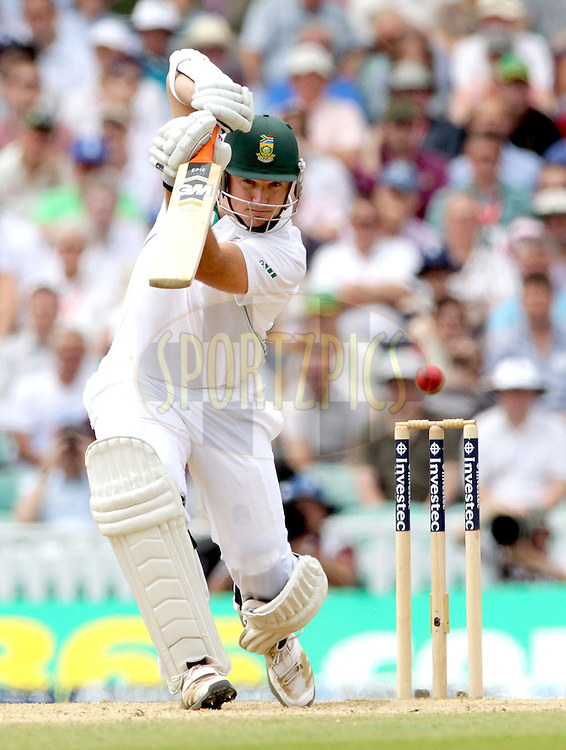 © Andrew Fosker / Seconds Left Images 2012 - South Africa's Graeme Smith drives - England v South Africa - 1st Investec Test Match -  Day 3 - The Oval  - London - 21/07/2012