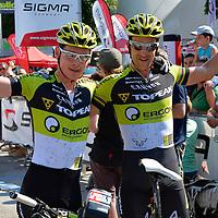 Arrivo della Craft Bike Transalp 2013 a Riva del Garda