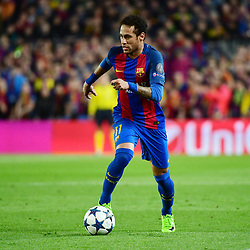 Neymar Jr of Barcelona during the Uefa Champions League Round of 16 second leg match between FC Barcelona and Paris Saint Germain at Camp Nou on March 8, 2017 in Barcelona, Spain. (Photo by Dave Winter/Icon Sport)