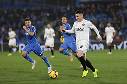 November 10, 2018 - Getafe, Madrid, Spain - Valencia CF's Kevin Gameiro during La Liga match between Getafe CF and Valencia CF at Coliseum Alfonso Perez in Getafe, Spain. November 10, 2018. (Credit Image: © A. Ware/NurPhoto via ZUMA Press)
