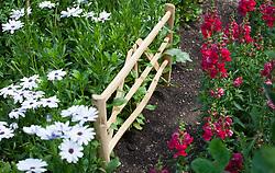 Chestnut mini gate support/hurdle