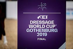 Dressage World Cup Finals <br /> LONGINES FEI World Cup™ Finals Gothenburg 2019<br /> © Dirk Caremans<br /> 05/04/2019