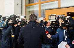 10.01.2019, Hotel Schlosspark, Mauerbach, AUT, Bundesregierung, Eintreffen der Regierungsmitglieder zur Regierungsklausur 2019, im Bild Vizekanzler Heinz-Christian Strache (FPÖ) // Austrian Vice Chancellor Heinz-Christian Strache during convention of the Austrian government at Mauerbach in Lower Austria, Austria on 2019/01/10 EXPA Pictures © 2019, PhotoCredit: EXPA/ Michael Gruber