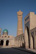 Kaloun mosque in the old city  Boukhara  Ouzbekistan  .///.la mosquee  Kalon  Boukara  Ouzbekistan .///.OUZB56243