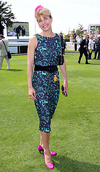 Darcey Bussell at Ladies Day at Glorious Goodwood in the UK  Thursday, 1st August 2013<br /> Picture by Stephen Lock / i-Images