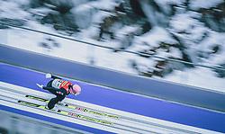 16.02.2020, Kulm, Bad Mitterndorf, AUT, FIS Ski Flug Weltcup, Kulm, Herren, im Bild Daniel Huber (AUT) // Daniel Huber of Austria during the men's FIS Ski Flying World Cup at the Kulm in Bad Mitterndorf, Austria on 2020/02/16. EXPA Pictures © 2020, PhotoCredit: EXPA/ Dominik Angerer