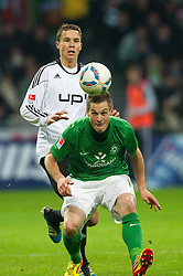 10.12.2011, Weser Stadion, Bremen, GER, 1.FBL, Werder Bremen vs VFL Wolfsburg, im BildMarkus Rosenberg (Bremen #11). // during the Match GER, 1.FBL, Werder Bremen vs VFL Wolfsburg, Weser Stadion, Bremen, Germany, on 2011/12/10.EXPA Pictures © 2011, PhotoCredit: EXPA/ nph/ Kokenge..***** ATTENTION - OUT OF GER, CRO *****