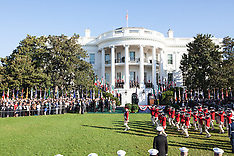 DC: Official Visit Of Italian Prime Minister Matteo Renzi To The White House, 18 Oct. 2016