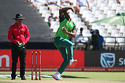 Beuran Hndricks during the One Day International match between South Africa and England at PPC Newlands, Capetown, South Africa on 4 February 2020.