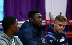 Bristol Sport and Bristol Energy launch their partnership at Millpond School with help from Daniel Edozie of Bristol Flyers - Mandatory by-line: Robbie Stephenson/JMP - 09/10/2017 - SPORT - Millpond School - Bristol, England - Bristol Sport and Bristol Energy Partnership Launch