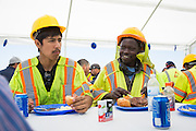 Republic Services host a BBQ luncheon and internal awards ceremony at Newby Island Resource Recovery Park in Milpitas, California, on August 15, 2014. (Stan Olszewski/SOSKIphoto)