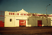Old Dublin Amature Photos Date Unknown 80s With Point Depot, Dublin General Warehousing Company, North Wall,