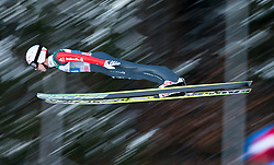 06.01.2015, Paul Ausserleitner Schanze, Bischofshofen, AUT, FIS Ski Sprung Weltcup, 63. Vierschanzentournee, Probedurchgang, im Bild Simon Ammann (SUI) // Simon Ammann of Switzerland soars trought the air during his Trial Jump for the 63rd Four Hills Tournament of FIS Ski Jumping World Cup at the Paul Ausserleitner Schanze, Bischofshofen, Austria on 2015/01/06. EXPA Pictures © 2015, PhotoCredit: EXPA/ Johann Groder