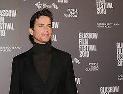 Glasgow Film Festival 2019<br /> <br /> Scottish Premier of Papi Chulo<br /> <br /> Pictured: Matt Bomer<br /> <br /> (c) Aimee Todd | Edinburgh Elite media