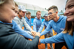 Team West during Day 3 of tennis tournament Mima Jausovec cup where compete best Slovenian tennis players of the East and West, on June 8, 2020 in RCU Lukovica, Slovenia. Photo by Vid Ponikvar / Sportida