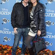 NLD/Amsterdam/20191116 - Filmpremiere Frozen II, Michiel Mol en partner Marlous