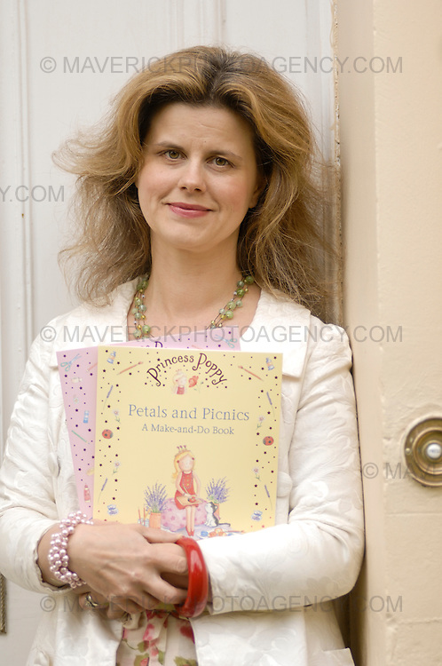 Portrait session with Janey Louise-Jones, Author of the Princess Poppy childrens books.
