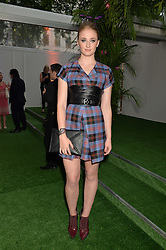 SOPHIE TURNER at the Glamour Women of The Year Awards in Association with Next held in Berkeley Square Gardens, Berkeley Square, London on 3rd June 2014.