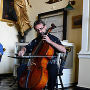 Taken at the 2013 PARMA Music Festival's special reception at the Portsmouth Athenaeum in Portsmouth, NH. August 2013