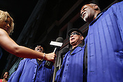 """The Blind Boys of Alabama at """" Lincoln After Dark """" sponsored by Lincoln Motors and hosted by Idris Elba and Steve Harvey and music by Biz Markie during the 2009 Essence Music Festival and held at The Contemporary Arts Center in New Orleans on July 4, 2009"""