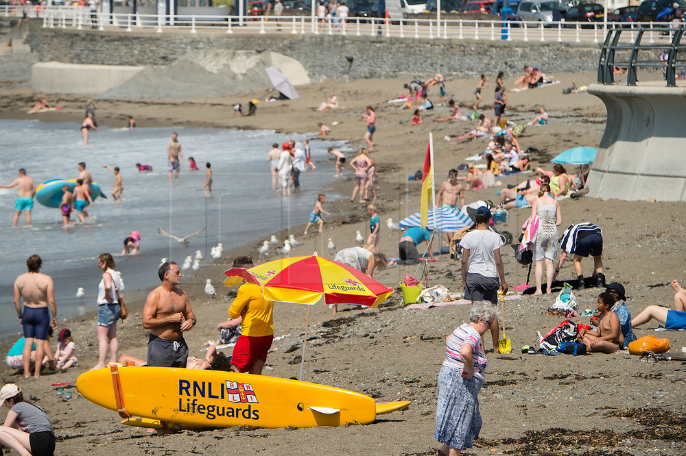©Licensed to London News Pictures. 25/07/2019. Aberystwyth, UK. 