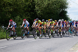 Alé Cipollini in the bunch at OVO Energy Women's Tour 2018 - Stage 1, a 130 km road race from Framlingham to Southwold, United Kingdom on June 13, 2018. Photo by Sean Robinson/velofocus.com